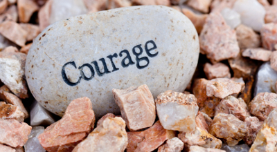 It takes courage to stick to your convictions through trials and tribulations.