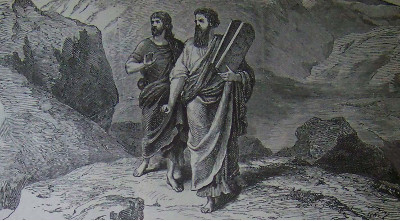 Moses and Joshua