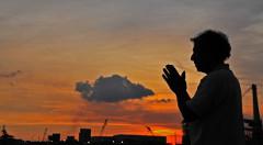 Praying-man-standing