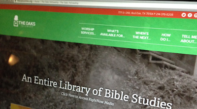 Oaks website