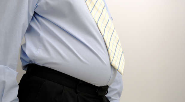 Many pastors have become complacent about their health and have become overweight.