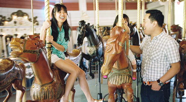 Adults merry go round