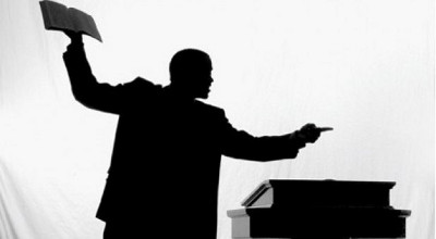 Pastor angry